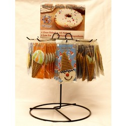 Rotating Rack with set of 48 Doggie Pastries