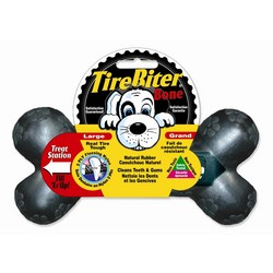 TireBiter Bone w/Treat Station - 3 Pack