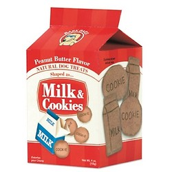Milk & Cookies - Peanut Butter Bark Bars - 30/case
