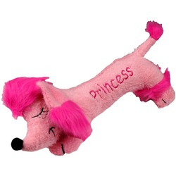 """HOT DOG"" PRINCESS PINK POODLE"
