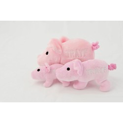 Dog Toy - Trayf the Pig - Case of 3