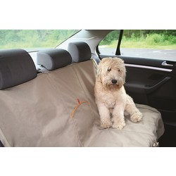 KURGO BENCH PET SEAT COVER | BLACK or KHAKI