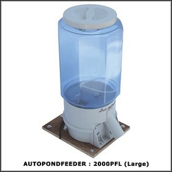 Outdoor / Pond Feeder - Large (Light Gray) (Nylon and PP Plastic)
