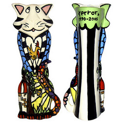 Pet-Cat-A Cats Life Urn