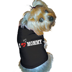 Doggie Tank - I (Heart) My Mommy
