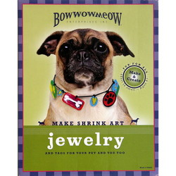Make Shrink Art Jewelry and tags for your pet and you too
