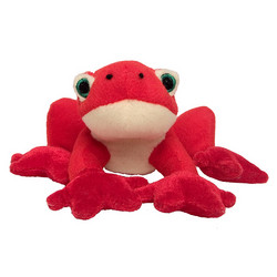 Red Tree Frog Mini Plush