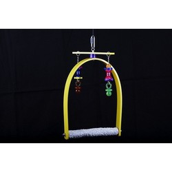Whirly Bird Swing - Concrete & Plastic ( Small )