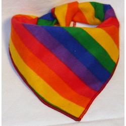 Wholesale Pride Pup Rainbow Bandana