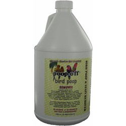 Poop-Off Bird Poop Rem 128 oz Jug