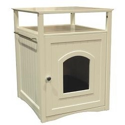 Cat Washroom - Litter Box Cover / Night Stand Pet House