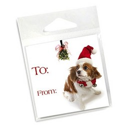 10 Pack of Holiday Gift Tags - King Charles