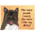 Express Yourself Signs - The more people I meet the more I like my......(Breeds A-C): Dogs For the Home Decorative Items