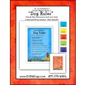Dog Rules Matted Prints - 8x10: Dogs For the Home Decorative Items