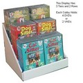 Double Couter Display Option 1<br>Item number: CCD-C12: Dogs Toys and Playthings Entertainment DVD