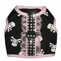 Girls Skull Harness Top: Dogs