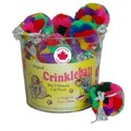 Crinkle Ball with Elastic Made in Canada: Cats