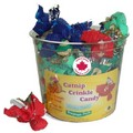 Catnip Crinkle Candy Made in Canada<br>Item number: 980