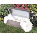 Deluxe Pet Casket Liner: Cats For the Home Pet Urns/Memory Items