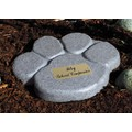 Paw Print Memorial Marker: Dogs For the Home