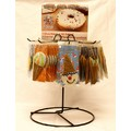 Rotating Rack with set of 48 Doggie Pastries<br>Item number: RRWP: Dogs Retail Solutions Store Merchandising Products