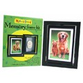 Makin's Brand® Pet Memory Frames Kit - Single turning frame with double face<br>Item number: 35306: Dogs For the Home Picture Frames