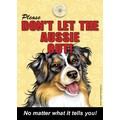 Don't Let The Dogs Out Signs - 4/Case: Dogs Gift Products Miscellaneous Gift Products