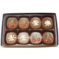 Flowers &amp; Cherries Truffle Box<br>Item number: 00892: All Natural