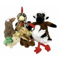 Fuzzy Friends - 6 pack<br>Item number: 71034PDQ: Dogs Toys and Playthings