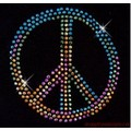 Metallic Peace Sign - Large: Dogs