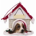 Dog House Ornament: Dogs Holiday Merchandise