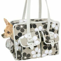 Slant Pocket Pet Tote: Dogs Travel Gear Travel Carriers