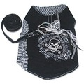 Punk Rock Skull & Crossbones Harness: Dogs Collars and Leads