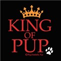 King of Pup Bandana<br>Item number: B110
