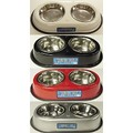 """DOO-WOP"" DOUBLE DINER: Dogs Bowls and Feeding Supplies"