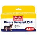 Simple Solution Diaper Garment Pads: Dogs Stain, Odor and Clean-Up