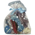 HOLIDAY DOG GIFT BAG W/RIBBON / 6 PCS: Dogs Treats