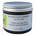 TAIL WAGGING TERRIFIC TEA TREE BALM - 2 oz.<br>Item number: CS 2541
