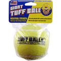"4"" Giant Tuff Ball: Dogs Toys and Playthings Fetch & Tug Toys"