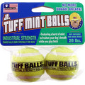 Jr. Tuff Mint Balls 2 pk: Dogs Toys and Playthings Fetch & Tug Toys