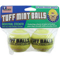 Tuff Mint Balls 2 pk: Dogs Toys and Playthings Fetch & Tug Toys