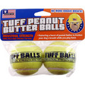 Tuff Peanut Butter Balls 2 pk: Dogs Toys and Playthings