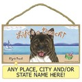 Life's a Beach Breed Specific Plaques - 3/Case