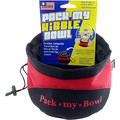 Pack My Kibble Bowl-8 cup: Dogs Bowls and Feeding Supplies Travel Bowls