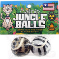 Catnip Jungle Balls 2pk