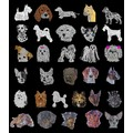 48 pc. Assorted Dog Breed Rhinestone Car Decals<br>Item number: DB ASST: Dogs Gift Products Miscellaneous Gift Products
