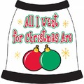 All I Want from Christmas Are...: Dogs Pet Apparel Tanks