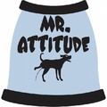 Mr. Attitude Dog T-Shirt