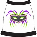 Mardi Gras Mask 4 Dog T-Shirt: Dogs Holiday Merchandise Easter Themed Items