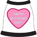 Happy Valentines Day Heart Dog T-Shirt: Dogs Pet Apparel Tanks